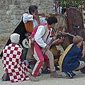 Le mantelet à rouelle : Château des Baux de Provence 2004