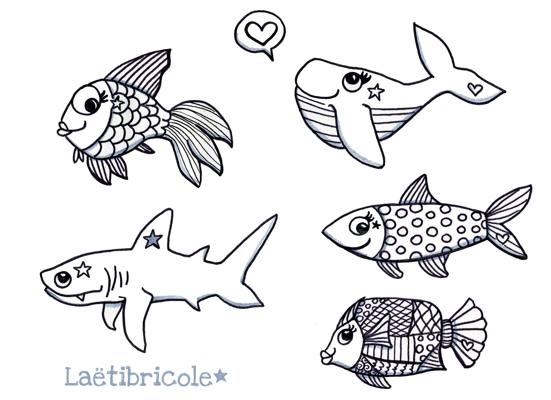 Poisson d 39 avril laetibricole - Image de poisson a imprimer ...