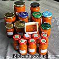 Coulis de tomates {cornues} au basilic