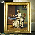 Jean-etienne liotard (geneva 1702- 1789), a dutch girl at breakfast