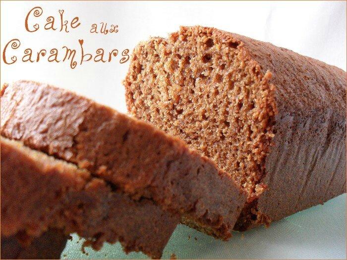 Cake aux Carambars 1