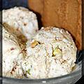 P'tit nougat glacé aux spéculoos (sans sorbetière)