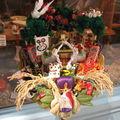 Artisanat japonais traditionnel : le kumade ( porte-bonheur géant pour le commerce )