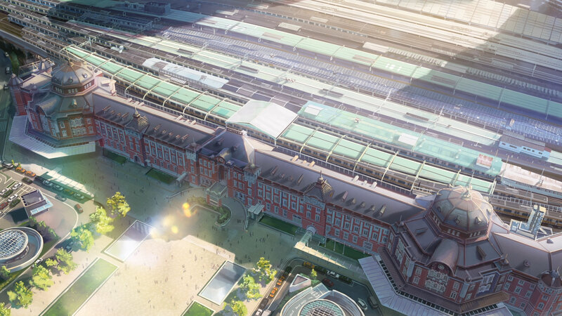 Canalblog Anime Makoto Shinkai Your Name Train02