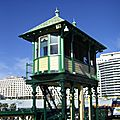 le kiosque sur Pyrmont bridge