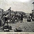 Daubeil, l'invasion en Lorraine (1888)