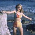 1946 norma jean à la plage par richard c miller