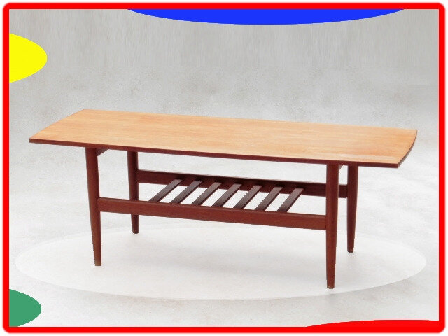 table basse danois teck