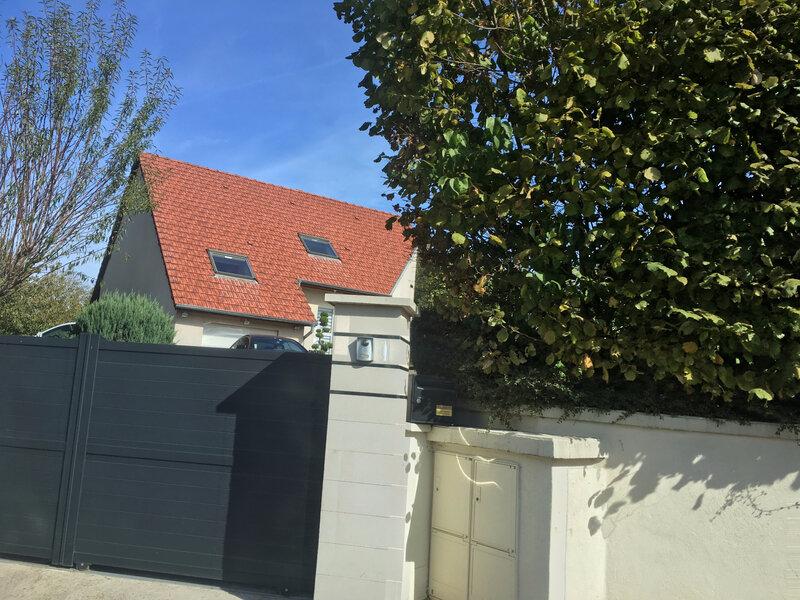 NOTRE maison... pourquoi ils ont mis un portail !