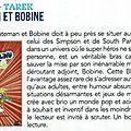 Revue de presse 'blateman & bobine' dans paris tonkar magazine