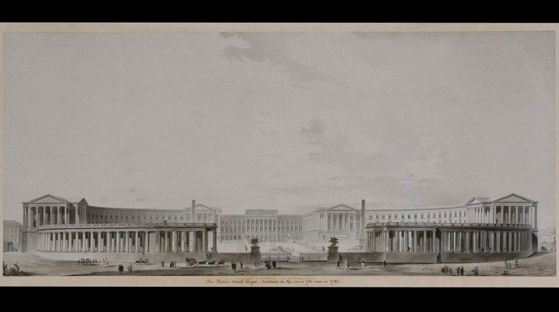 exposition-dessins-pour-versailles-au-chateau-de-versailles-marie-joseph-peyre-versailles-entoure-dune-colonnade-a-la-facon-de-saint-pierre-de-rome--1600x0