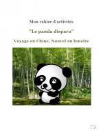 Le panda disparu Activités couv