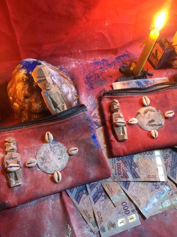 PORTEFEUILLE-MAGIQUE QUI MULTIPLIE EUROS ET DOLLARS