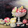 Coupe de fruits d'autimne