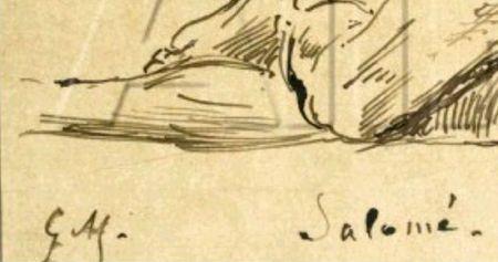 signature Gustave Moreau