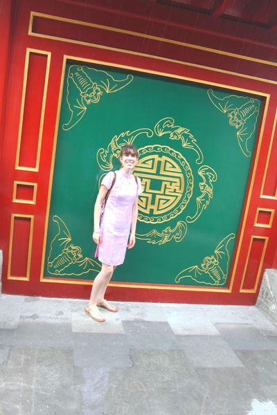 Moi au Vieux Palais d'Eté (3)