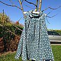 Robe Alula Grains de couture (taille 6 ans)