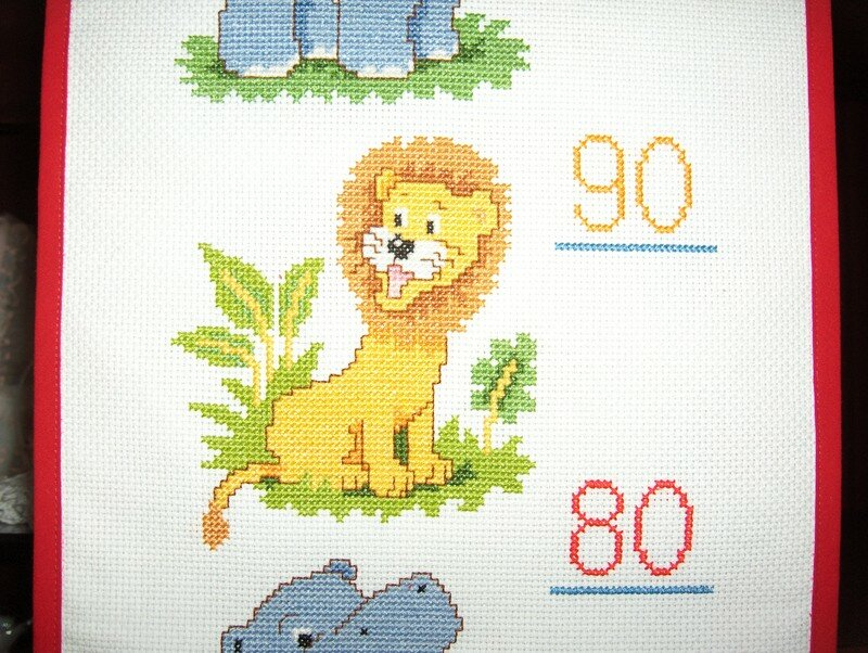 """Toise Vervaco """" Jungle """" - Broderie"""