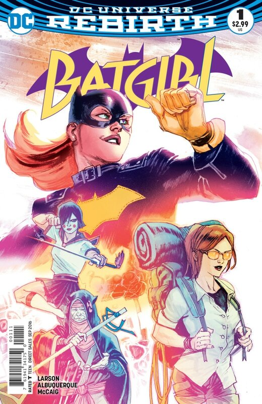 rebirth batgirl 01