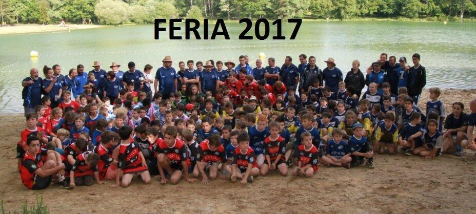 FERIA ECOLE DE RUGBY SAMEDI 24 juin 2017