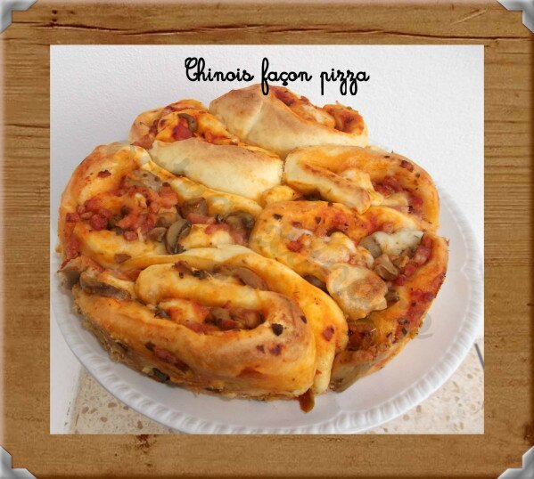Bree - Chinois façon pizza