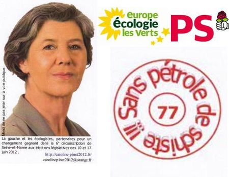 Caroline Pinet - 77 sans pétrole de schiste