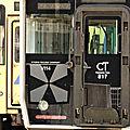 JR 817系 at the end of the line ! Nogata station