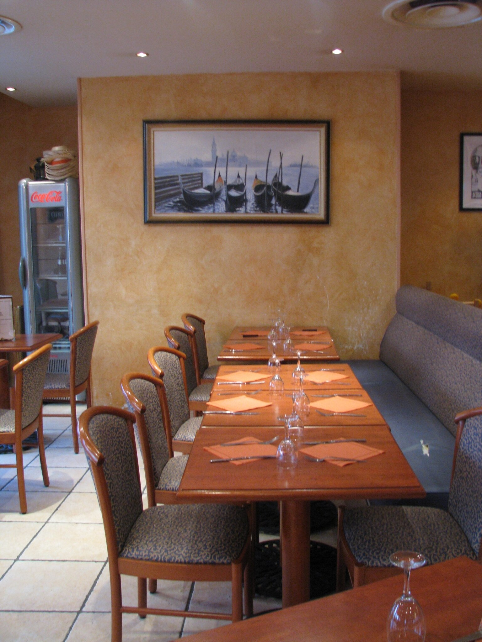 Le restaurant El palazzo avant travaux