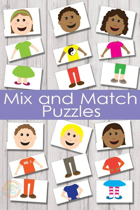 Mix-and-Match-Puzzles