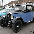 Mathis type pyc faux cabriolet 1932