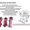 Collection été 11