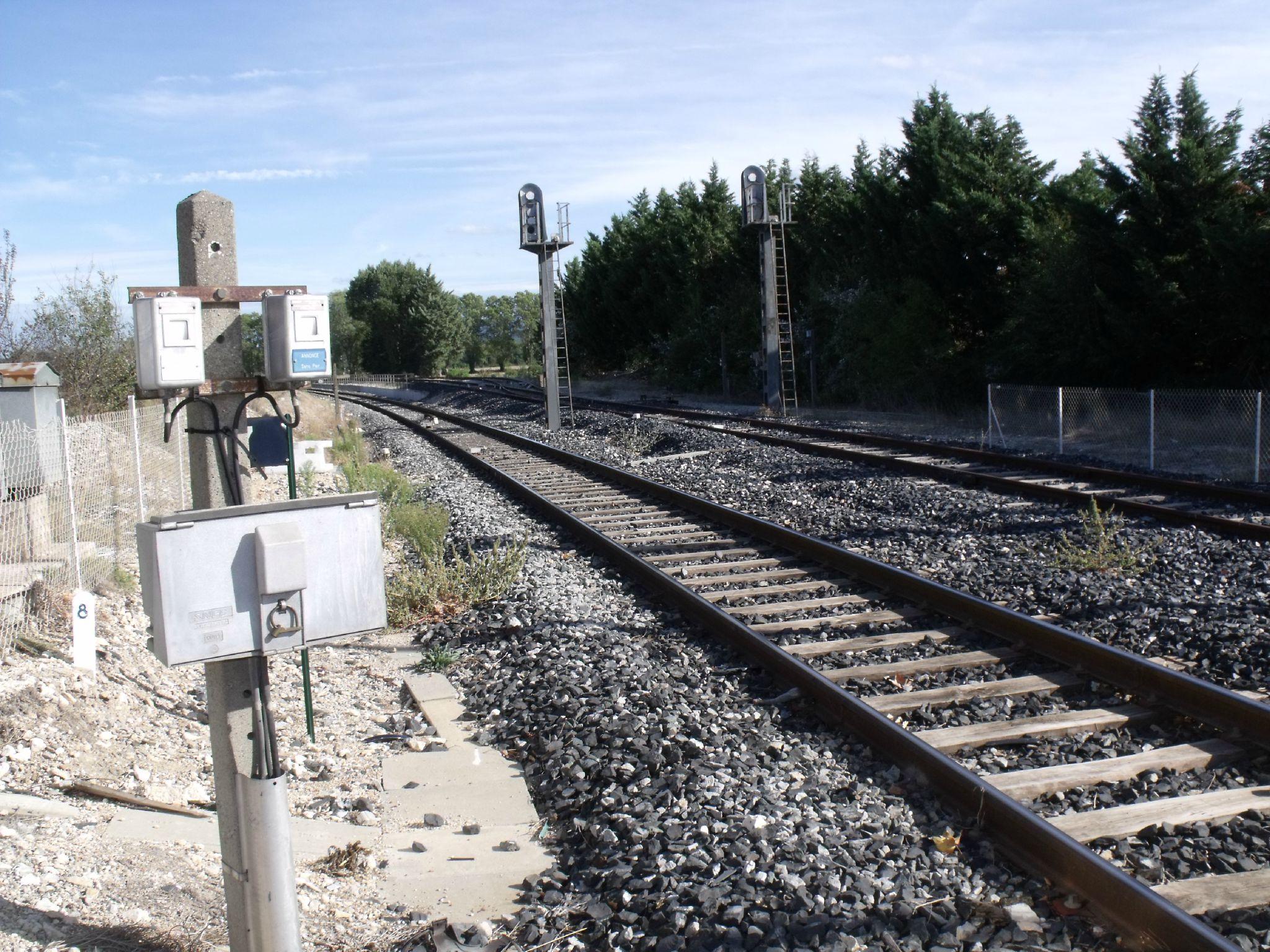 Saint-Pons halte détruite (Bouches-du-Rhône)