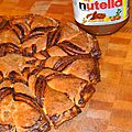Brioche flocon au nutella