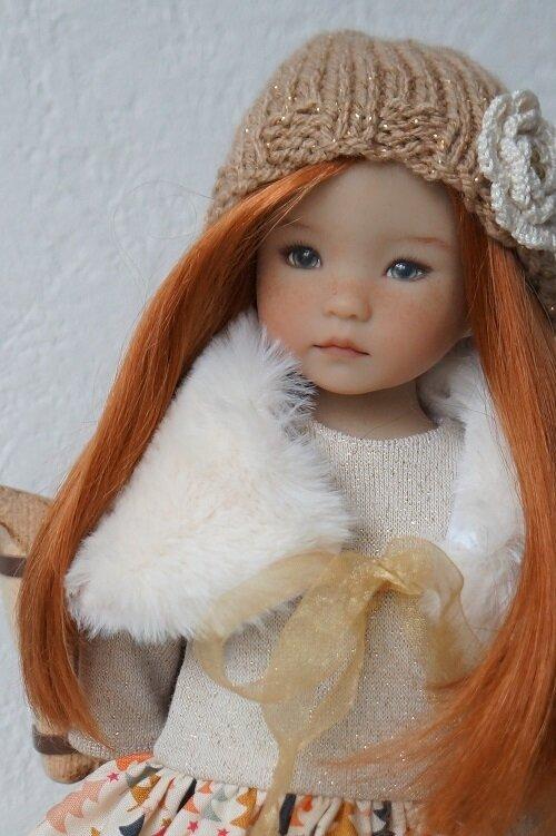 les petites Darling se préparent pour Noël . Annie de Dianna Effner .