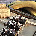 Idée de goûter bon et pas cher avec #netto: bananes chocolat-caramel-amandes !