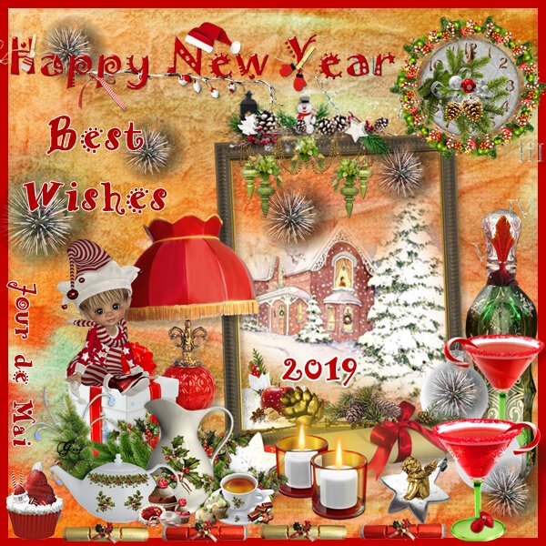 Happy New Year - Best Wishes 2019