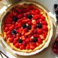 Tarte d'été aux fruits rouges...