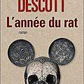 L'année du rat - régis descott