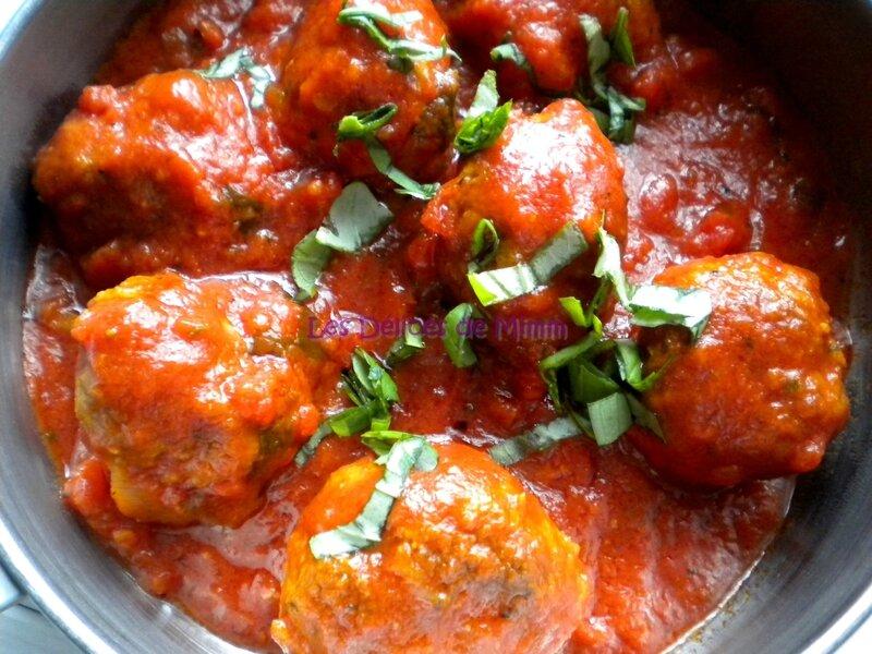 Polpette (boulettes de viande au parmesan) 2