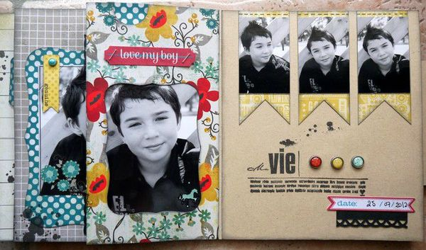 mini album Chronique scraplift Daude 14