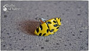 Bague Feuillage Moutarde