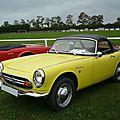 HONDA S800 MK1 cabriolet 1967 Créhange (1)