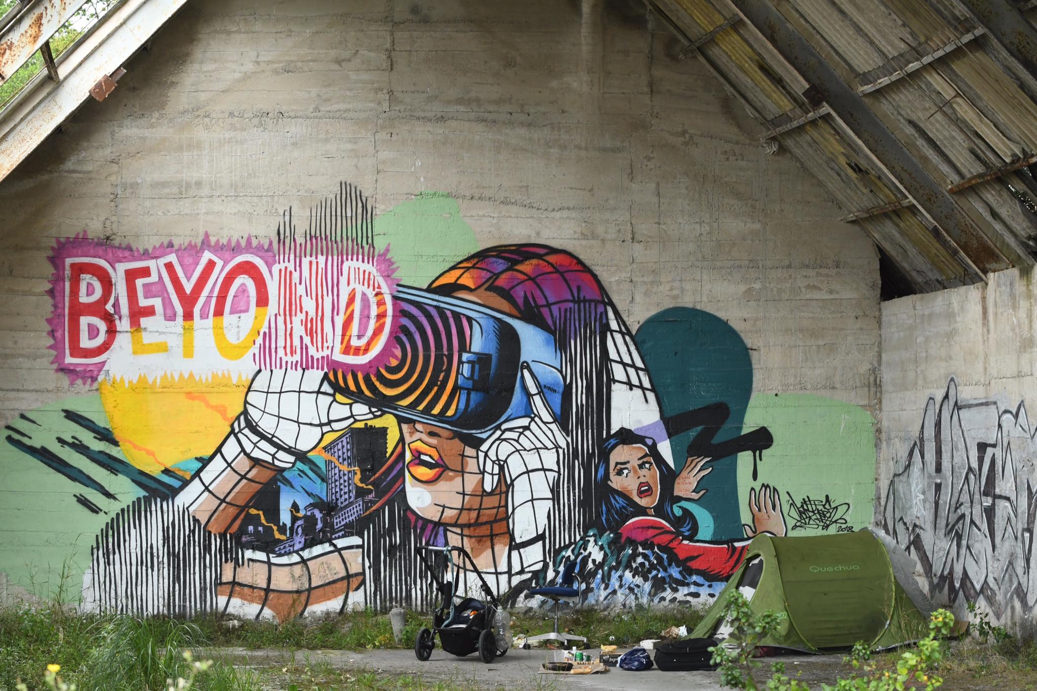 street-art et déclin social