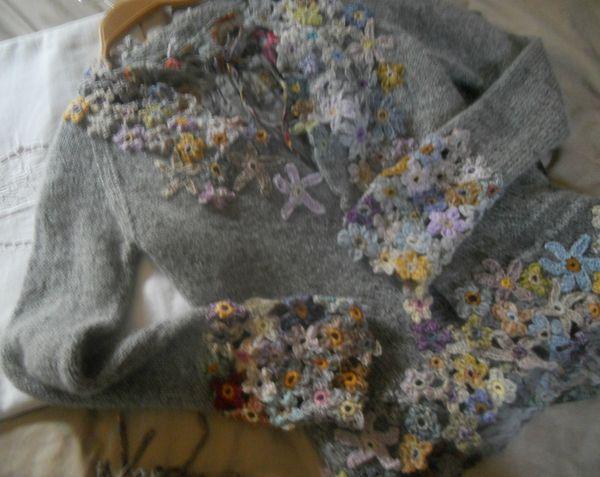 chan - gilet fleurs 020