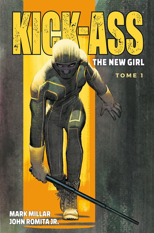 panini kick-ass the new girl 01