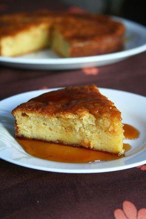 Gâteau aux pommes râpées 2