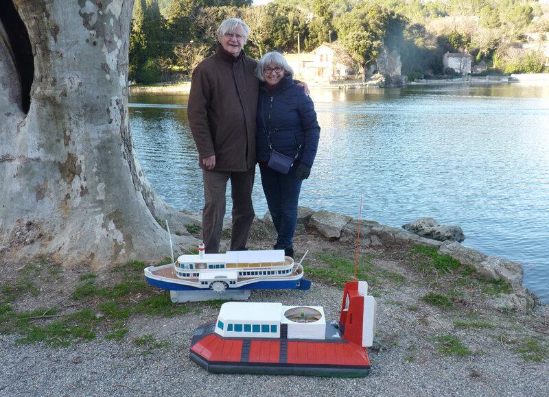 Gérard et Chantal Ulrich et leurs maquettes hors du commun