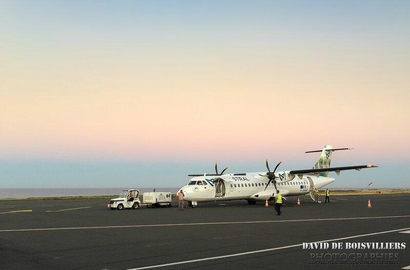 ATR d'Air Austral - Saint-Pierre, Île de la Réunion