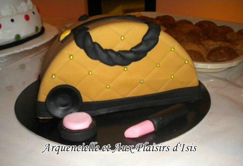 gâteau sac à main Soisson