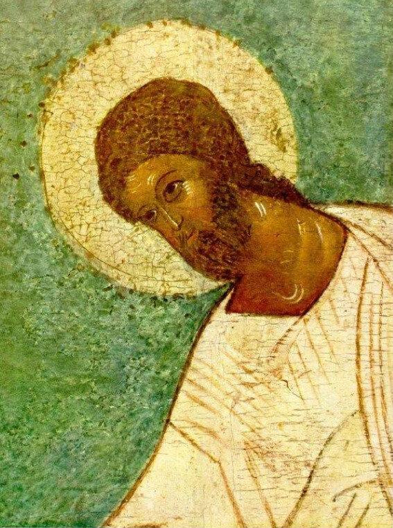 Christ, détail d'une icône